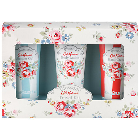 Buy Cath Kidston Blossom Travel Kit, Pack of 3 Online at johnlewis.com
