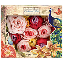 Buy Heathcote & Ivory Enchanted Walk Bathing Flowers, 70g Online at johnlewis.com