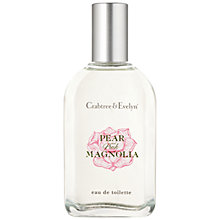 Buy Crabtree & Evelyn Pear & Pink Magnolia Eau de Toilette, 30ml Online at johnlewis.com
