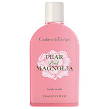 Buy Crabtree & Evelyn Pear & Pink Magnolia Body Wash, 250ml Online at johnlewis.com