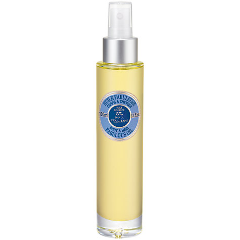 Buy L'Occitane Body & Hair Shea Fabulous Oil, 100ml Online at johnlewis.com