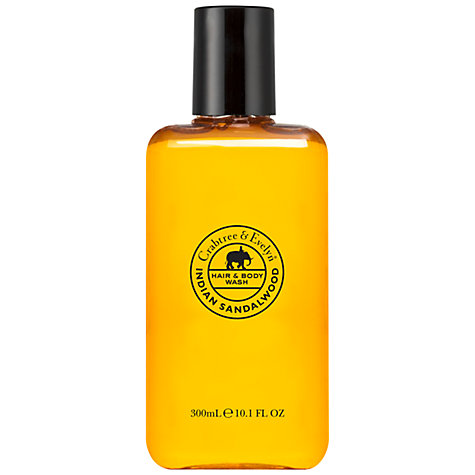 Buy Crabtree & Evelyn Indian Sandalwood Hair & Body Wash, 300ml Online at johnlewis.com