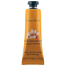 Buy Crabtree & Evelyn English Honey & Peach Blossom Hand Therapy, 100g Online at johnlewis.com