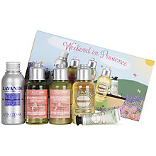 Buy L'Occitane Weekend in Provence Bath & Body Gift Set Online at johnlewis.com