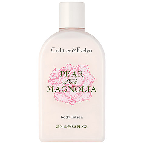 Buy Crabtree & Evelyn Pear & Pink Magnolia Body Lotion, 250ml Online at johnlewis.com