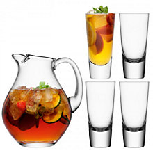 Buy LSA International Bar Collection Punch Jug and Glasses Set Online at johnlewis.com