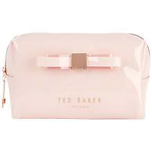 Buy Ted Baker Nanet Wash Bag, Nude Online at johnlewis.com