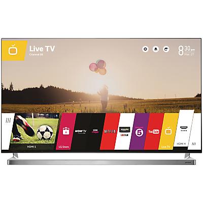 John Lewis 55JL9000 LED HD 1080p 3D Smart TV, 55