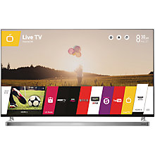 "Buy John Lewis 55JL9000 LED HD 1080p 3D Smart TV, 55"" with Freeview HD with Monster HDMI Cable Online at johnlewis.com"