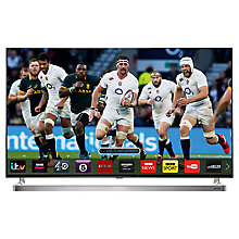 "Buy John Lewis 55JL9000 LED HD 1080p 3D Smart TV, 55"", Freeview HD & 2x 3D Glasses with FREE LG G Pad 8.0 Tablet Online at johnlewis.com"