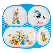 Buy Peter Rabbit Meal Tray Online at johnlewis.com