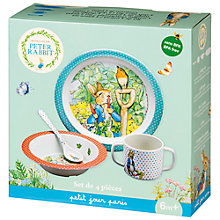 Buy Peter Rabbit Dinner Set Gift Box Online at johnlewis.com