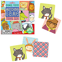 Buy Eeboo Animal Faces Matching Game Online at johnlewis.com