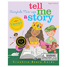 Buy Eeboo Tell Me a Story Fairytale Mix Ups Card Game Online at johnlewis.com