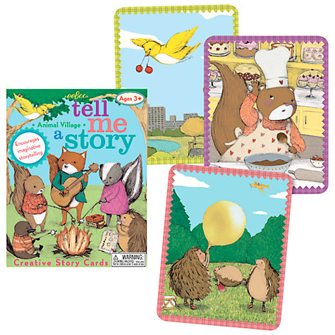 Buy Eeboo Tell Me a Story Animal Village Card Game Online at johnlewis.com