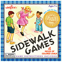 Buy Eeboo Sidewalk Games Set Online at johnlewis.com