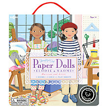 Buy Eeboo Paper Dolls Set Online at johnlewis.com