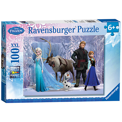 Buy Ravensburger Disney Frozen 100 Piece Puzzle Online at johnlewis.com