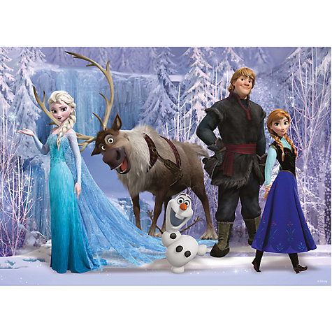 Buy Ravensburger Disney Frozen 100 Piece Jigsaw Puzzle Online at johnlewis.com