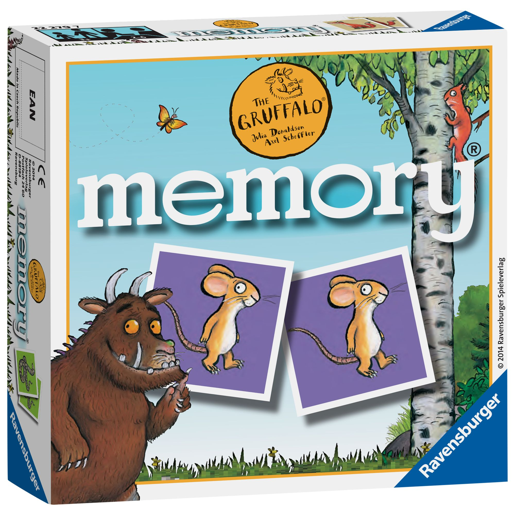 Ravensburger Ravensburger Gruffalo Mini Memory Card Game