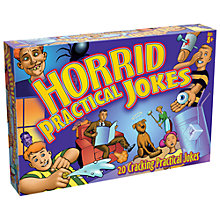 Buy Drumond Horrid Practical Jokes Set Online at johnlewis.com