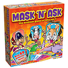 Buy Drumond Park Mask 'n' Ask Game Online at johnlewis.com