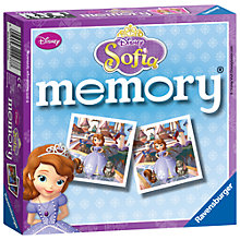 Buy Ravensburger Sofia the First Memory Game Online at johnlewis.com