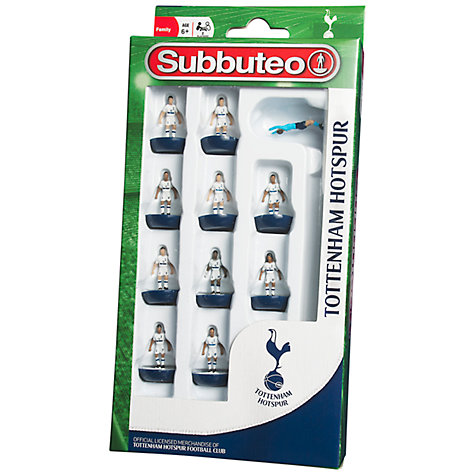 Buy Subbuteo Tottenham Hotspur Football Figures Online at johnlewis.com
