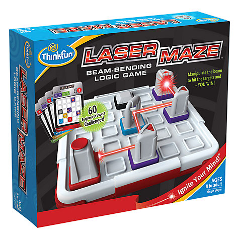 Buy Paul Lamond Laser Maze Game Online at johnlewis.com