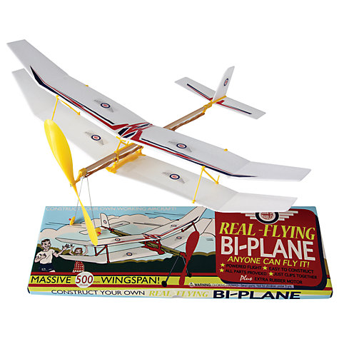Buy House of Marbles Real Flying Bi-Plane Online at johnlewis.com
