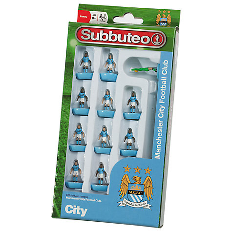 Buy Subbuteo Manchester City Football Club Figures Online at johnlewis.com