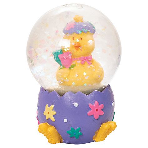 Buy Easter Glitter Globe, Assorted Online at johnlewis.com