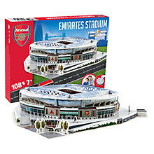 Buy Paul Lamond Games Arsenal Football Stadium Puzzle Online at johnlewis.com