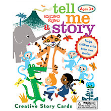 Buy Eeboo Tell Me a Story Volcano Island Card Game Online at johnlewis.com
