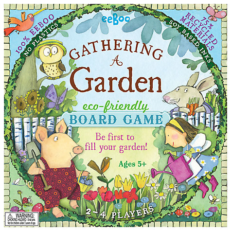 Buy Eeboo Gathering a Garden Eco-Friendly Board Game Online at johnlewis.com