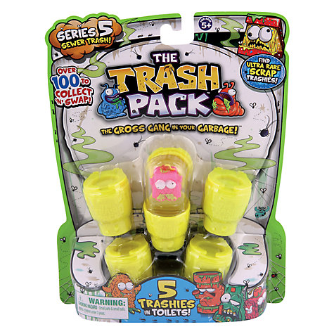 Buy The Trash Pack Series 3 Trashies, Pack of 5 Online at johnlewis.com