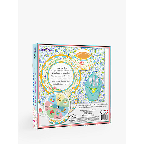 Buy Eeboo Tea Party Game Online at johnlewis.com