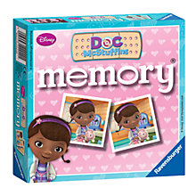Buy Ravensburger Doc Mcstuffin Mini Memory Card Game Online at johnlewis.com