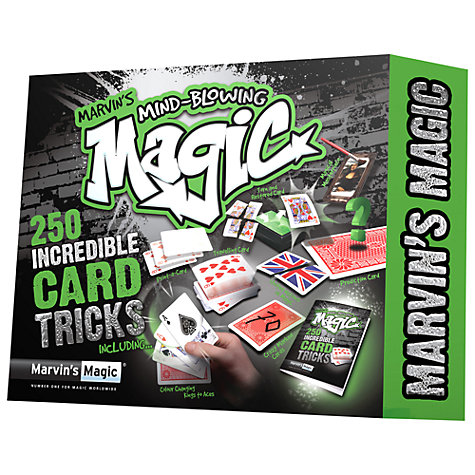 Buy Marvin's Magic 250 Incredible Card Tricks Online at johnlewis.com