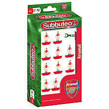 Buy Subbuteo Arsenal Football Figures Online at johnlewis.com