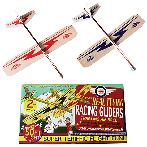 Buy Racing Gliders Kit, Pack of Two, Red/Blue Online at johnlewis.com