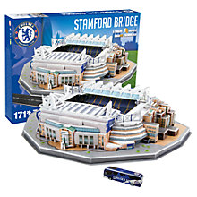 Buy Paul Lamond Chelsea Football Stadium Puzzle Online at johnlewis.com