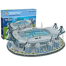 Buy Paul Lamond Games Manchester City Football Stadium Puzzle Online at johnlewis.com