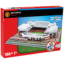 Buy Paul Lamond Manchester United Football Stadium Puzzle Online at johnlewis.com