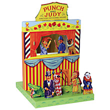 Buy House of Marbles Punch and Judy Theatre Online at johnlewis.com