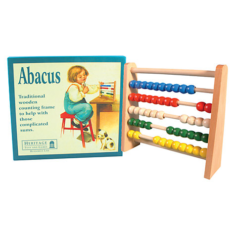Buy Wooden Abacus Online at johnlewis.com