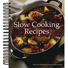 Buy Slow Cooking Recipes Book Online at johnlewis.com