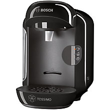 Buy Bosch TAS1202GB Tassimo Coffee Machine, Black Online at johnlewis.com