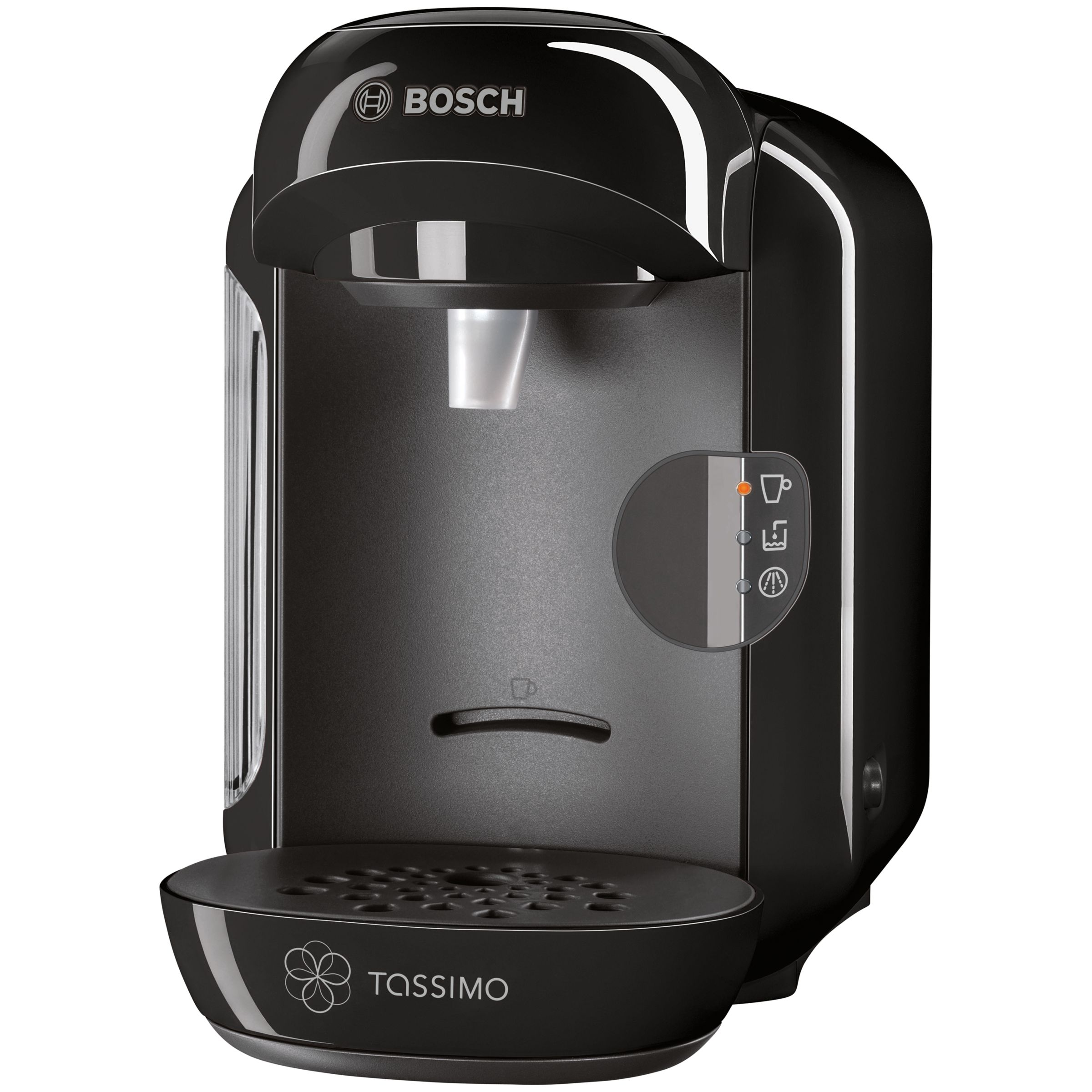 Buy Tassimo Vivy Coffee Machine by Bosch, Black John Lewis
