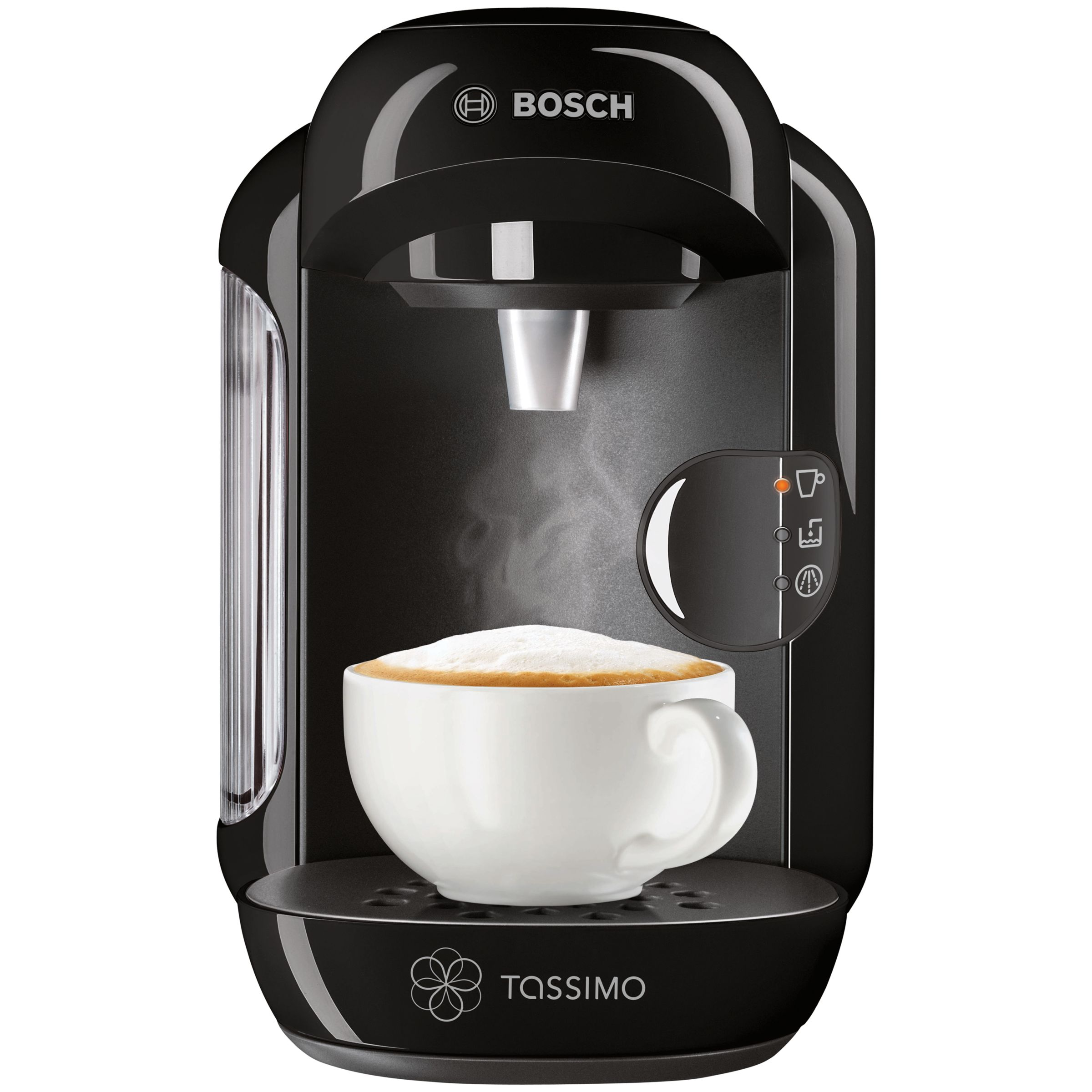 John Lewis Bosch Tassimo Coffee Maker : Buy Tassimo Vivy Coffee Machine by Bosch, Black John Lewis